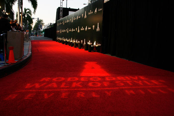 Red Carpet Black Backdrop A gobo on the red carpet 700x467