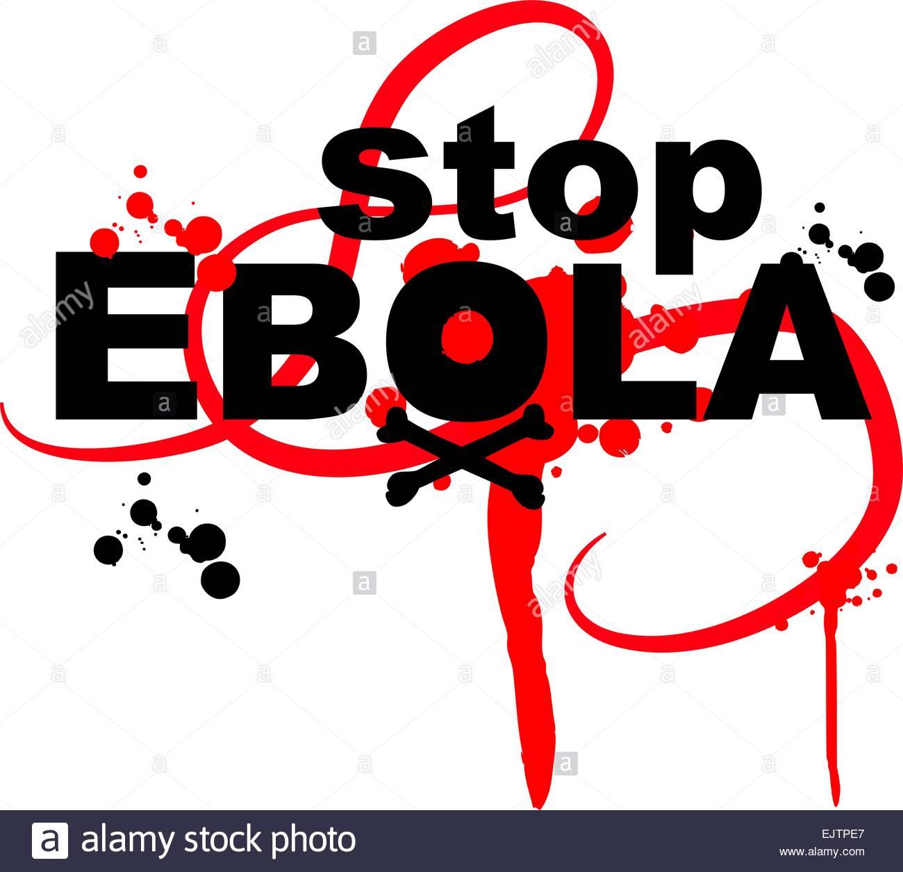 ebola virus design on white background Stock Vector Art 1300x1255