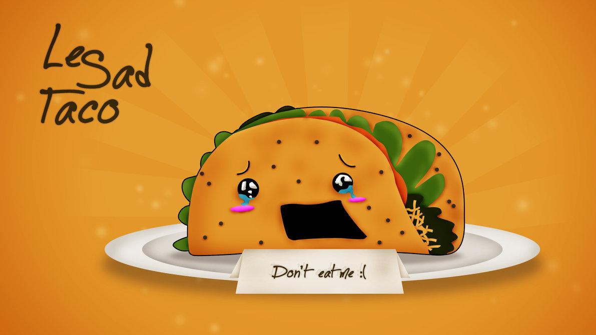 Sad Taco [1920x1080 Wallpaper