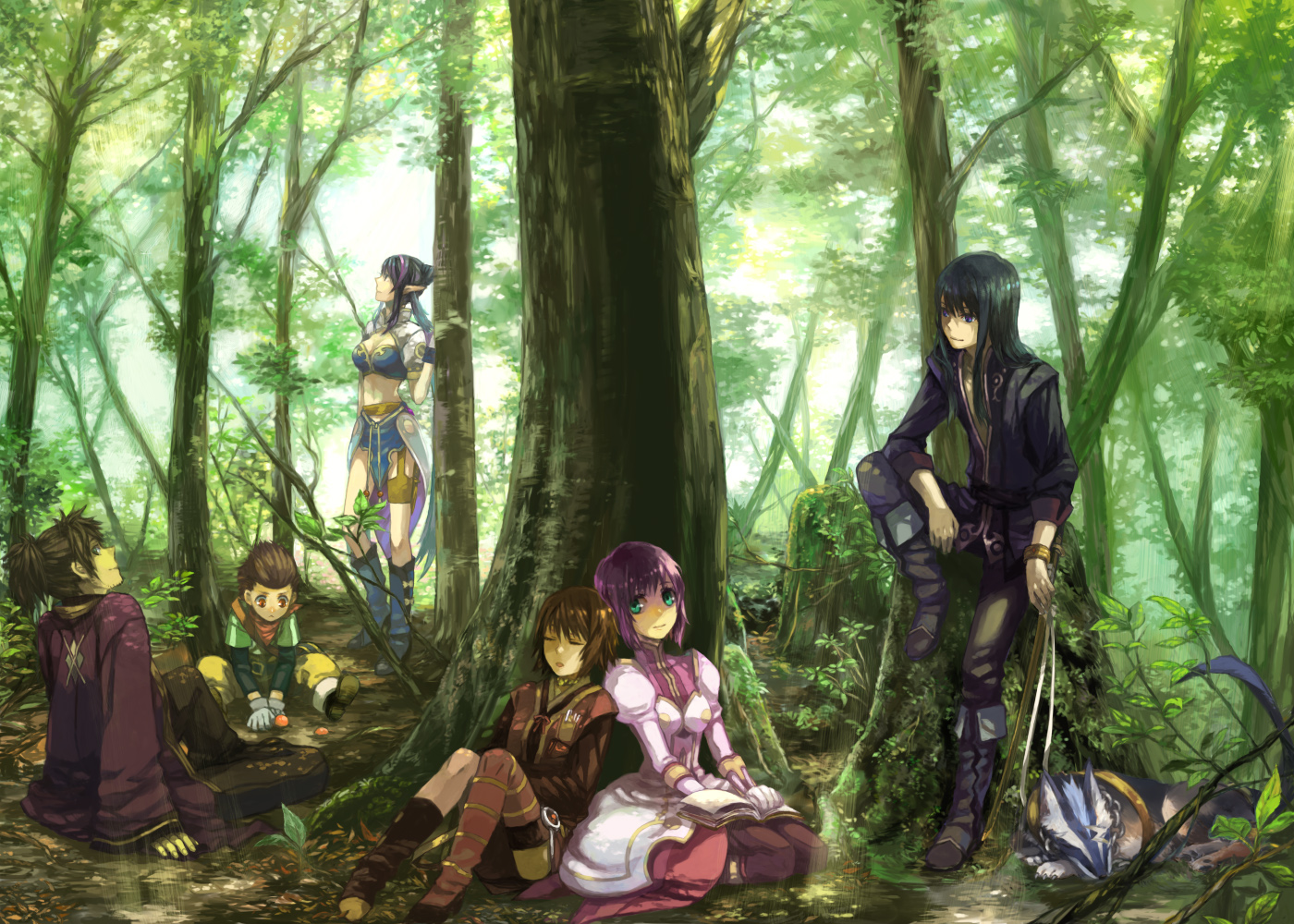 Tales Of Vesperia Computer Wallpapers Desktop Backgrounds 1400x1000 1400x1000