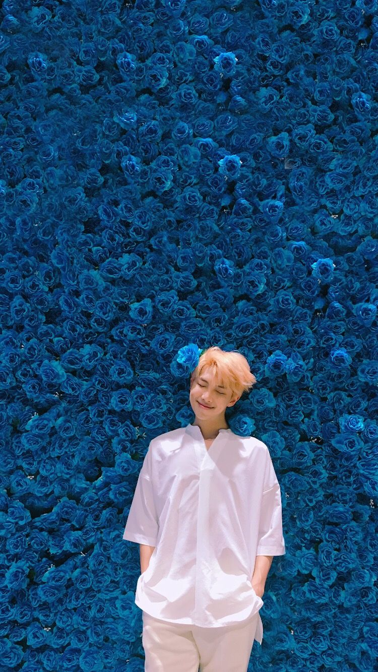 Simple wallpaper BTS Rap Monster BTS RAPMONSTER KIMNA 750x1334
