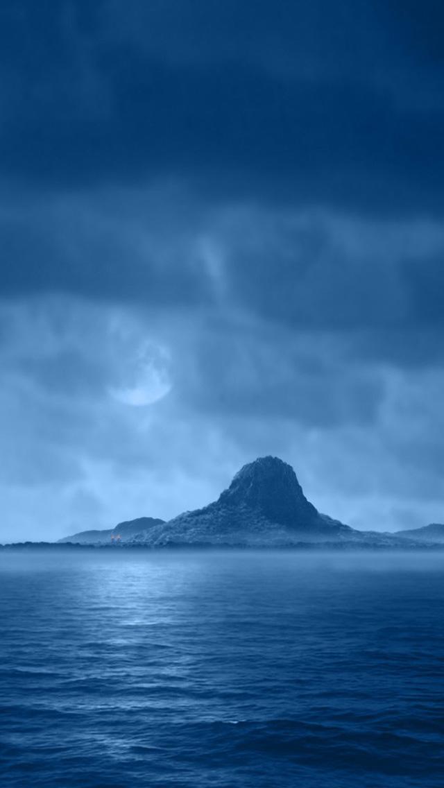 Blue ocean iPhone 5s Wallpaper Download iPhone Wallpapers iPad 640x1136