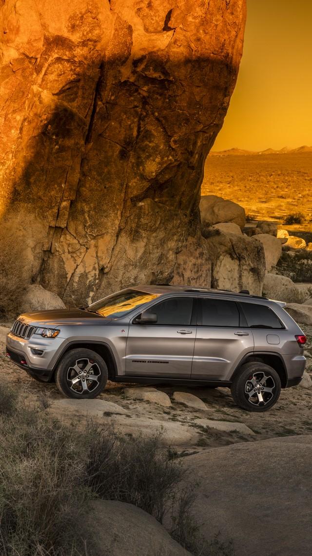 Wallpaper Jeep Grand Cherokee Trailhawk NYIAS 2016 suv Cars 640x1138