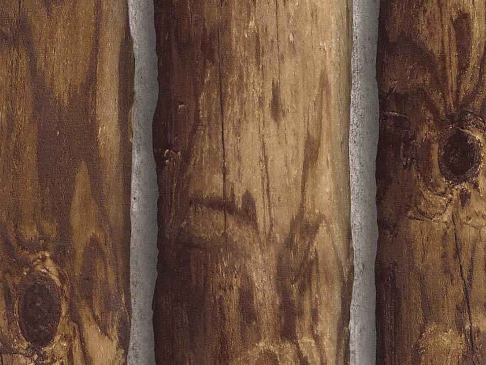 Wallpaper Designer Rustic Log Cabin Brown Wood Log Wall eBay 960x720