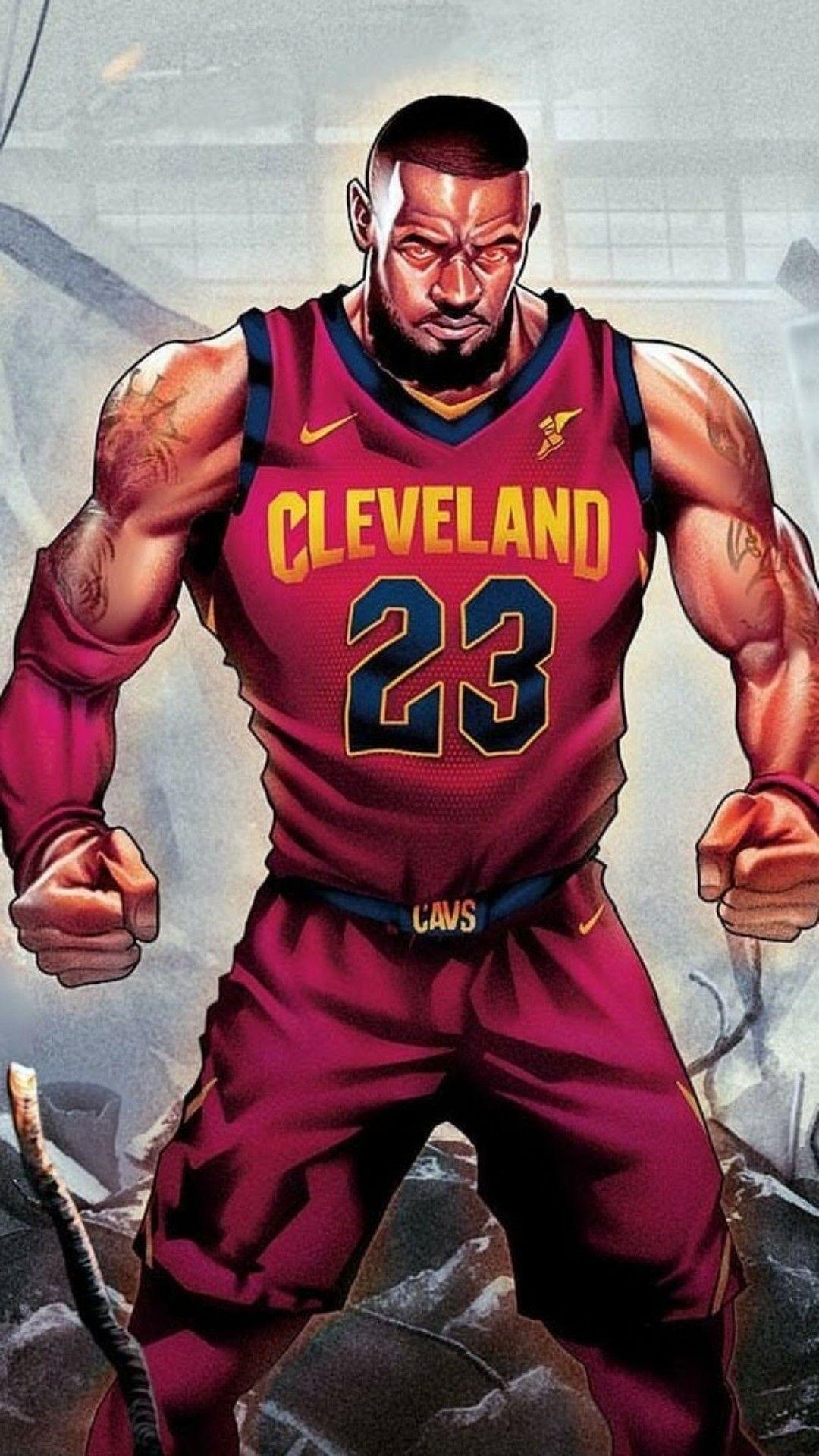 Lebron James Wallpaper Sports Basquetball Baloncesto NBA 1080x1920