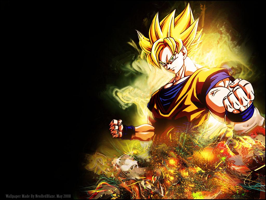 76 Dragon Ball Z Wallpapers Goku On Wallpapersafari