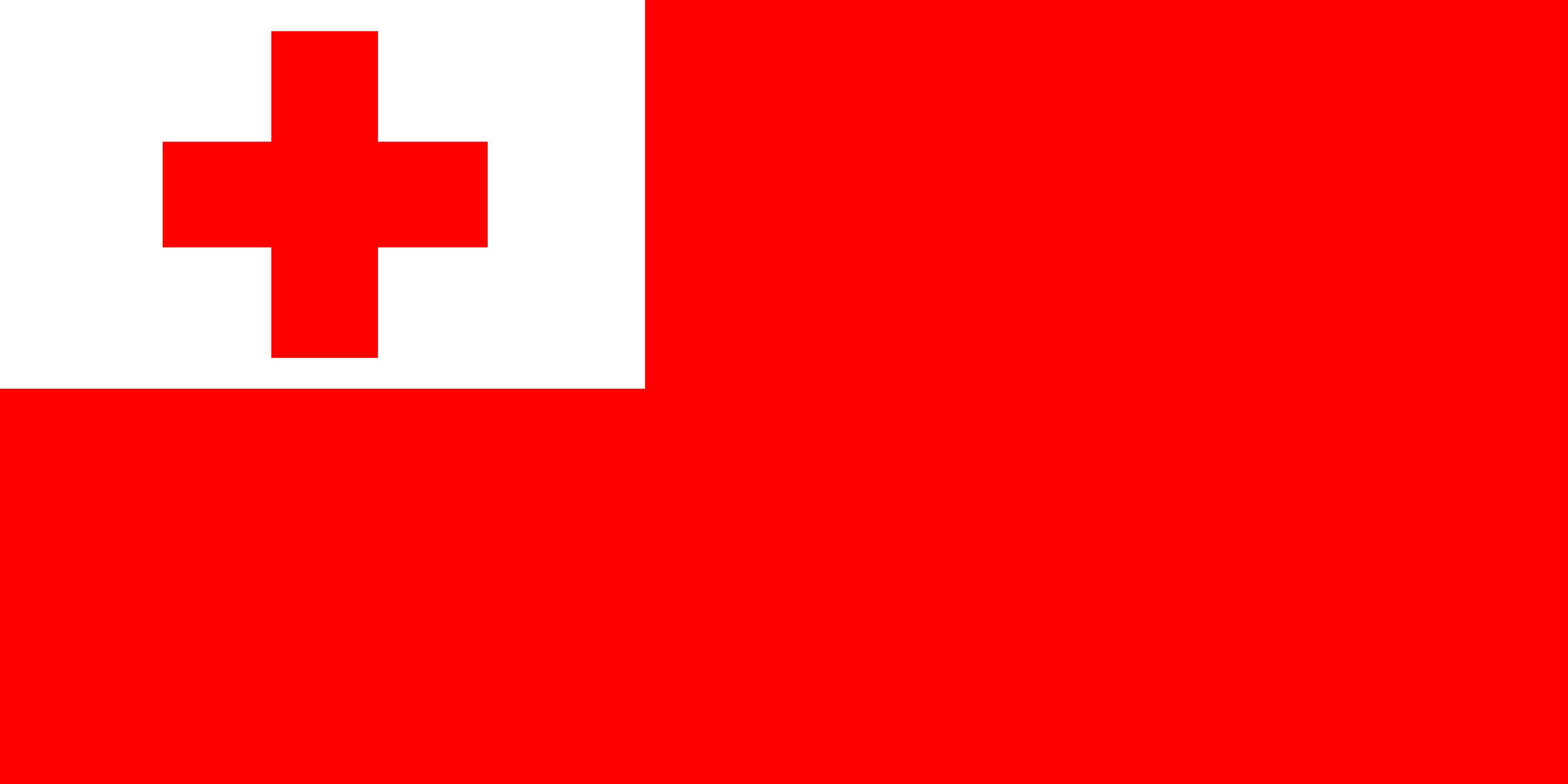 Photo Tonga Flag Cross 4795x2398