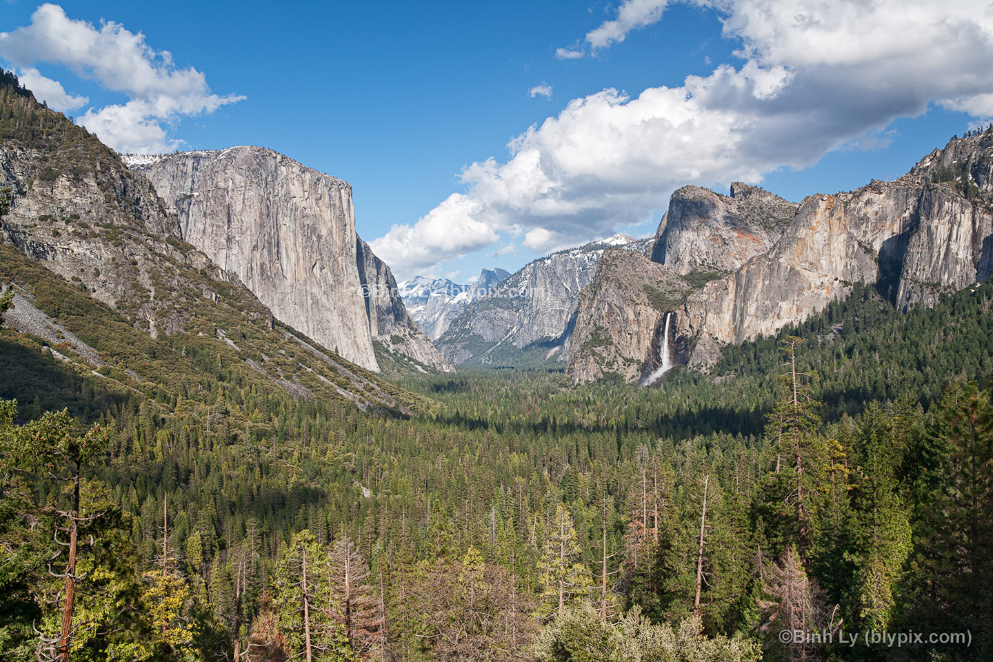 Tunnel View   Yosemite National Park Wallpaper Photo Art Print 1440x960