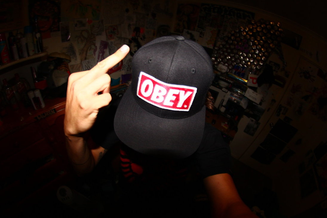 Obey Tumblr Wallpaper Shepard fairey obey hat daniel 1095x730