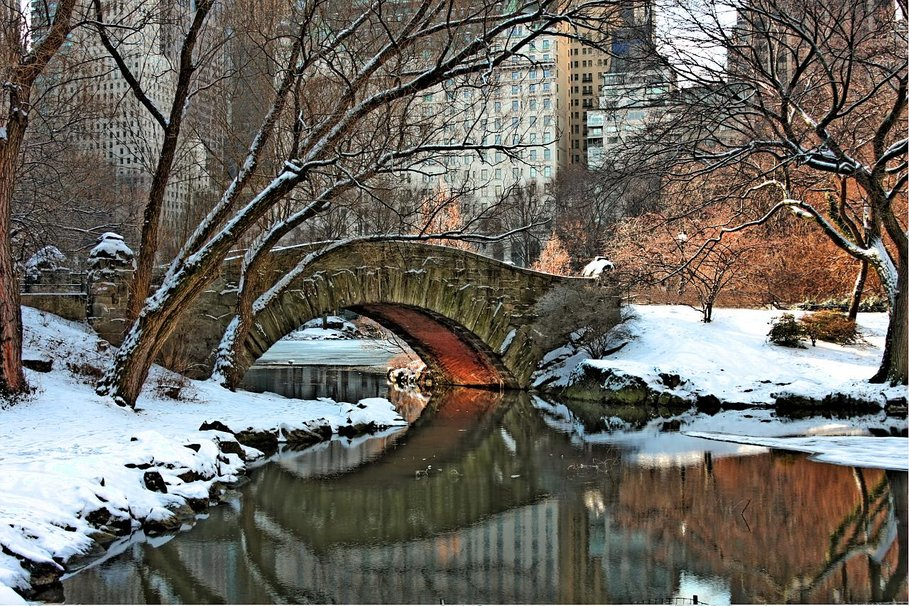 Central park winter wallpaper wallpapersafari for Central park wallpaper