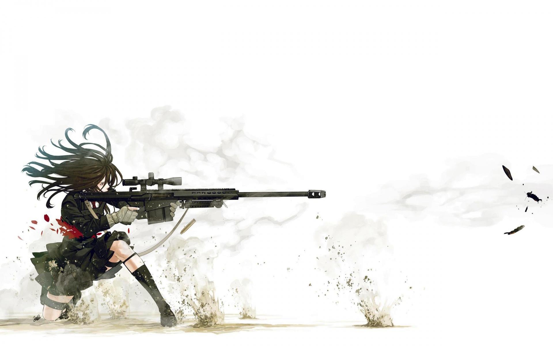 anime sniper wallpaper wallpapers 1920x1200 1920x1200