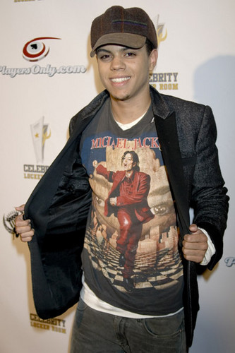 Michael Jackson images diana rosss son evan ross got his 333x500
