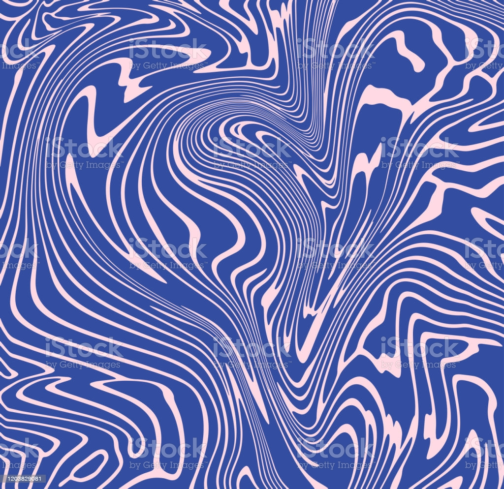 Abstract Liquid Wavy Background Optical Illusion Motion Striped 3d 1024x994