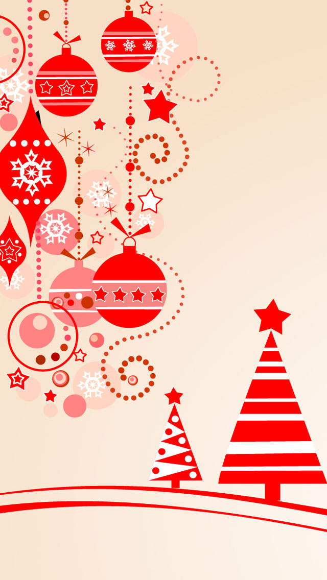 Christmas Clipart iPhone wallpapers Background and iPhone 4 640x1136