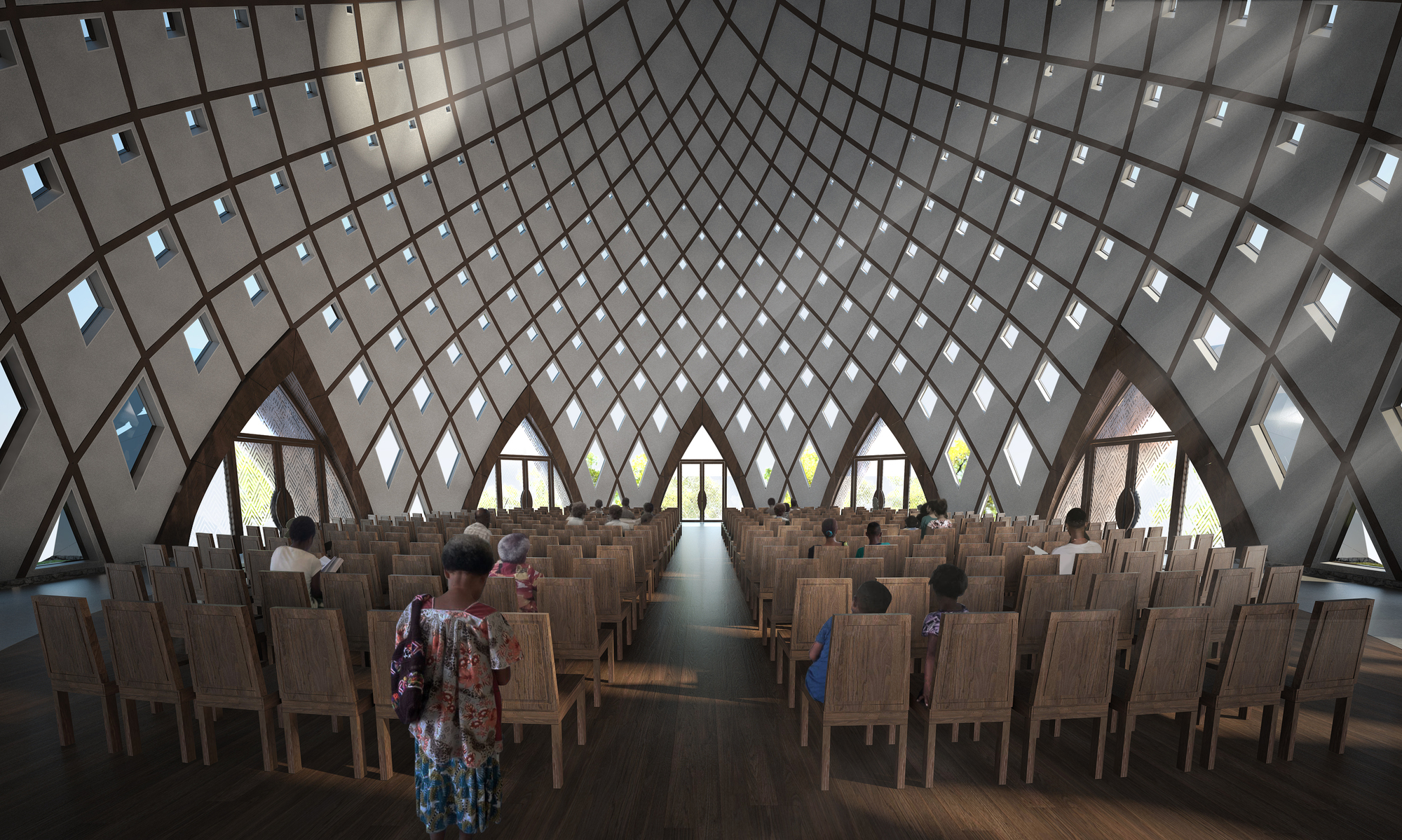 Gallery of Images Released for Bah House of Worship in Papua 2000x1199