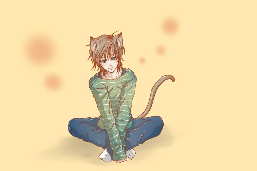 Boy Neko Cat Emo Anime Pictures Www Picturesboss Com