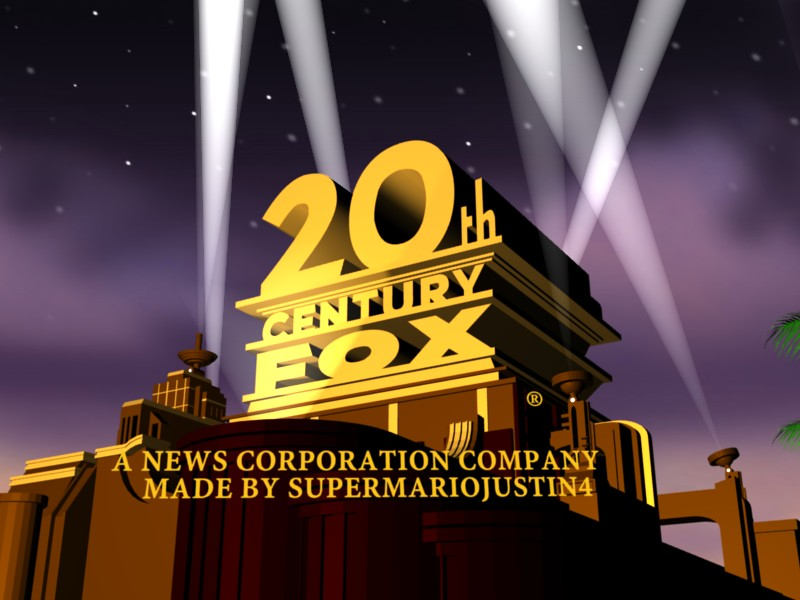 20th Century Fox 2009 logo Completed by supermariojustin4 on 800x600
