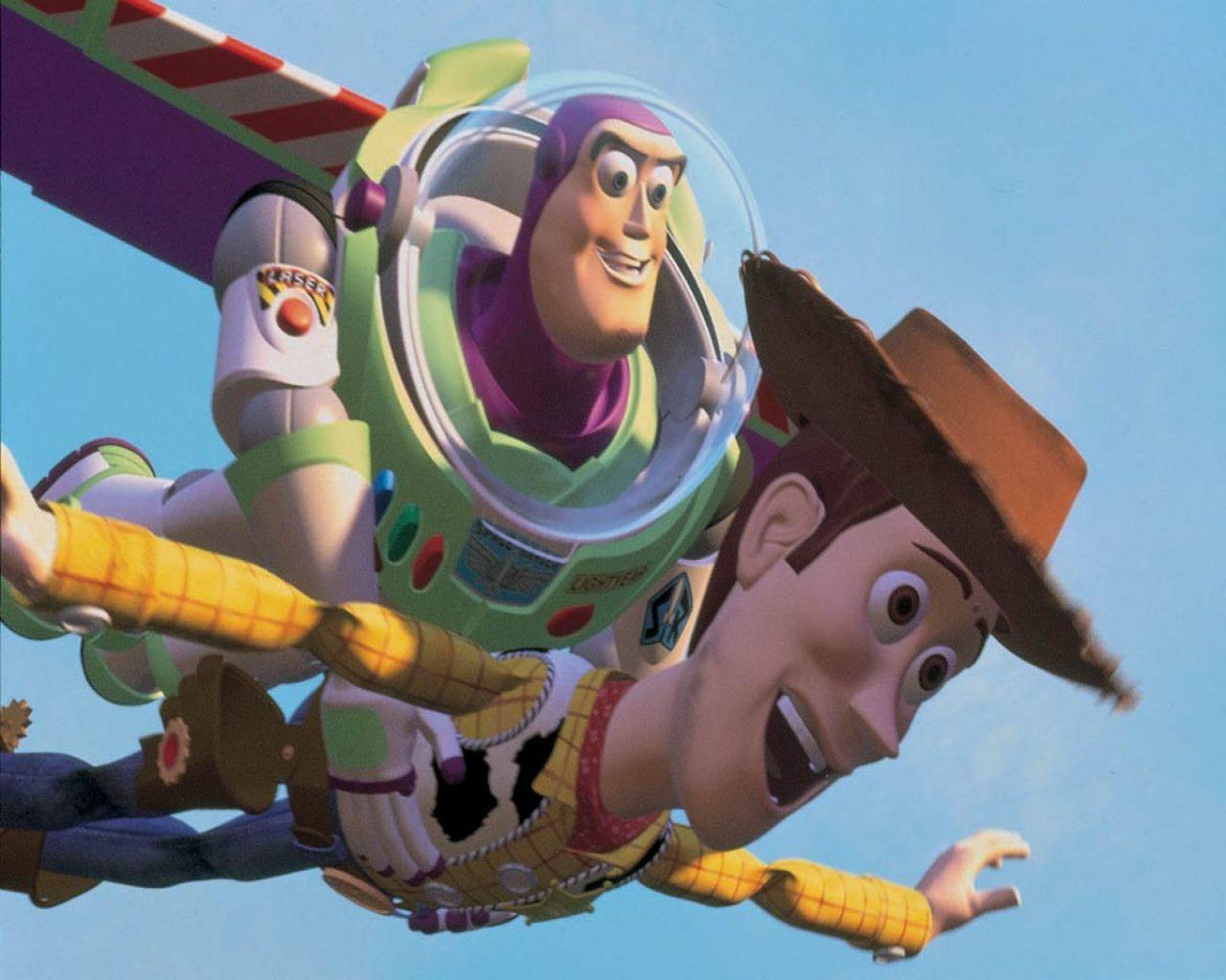 Buzz Lightyear Sheriff Woody Jessie Toy Story Wallpaper Nude and Porn 1280x1024