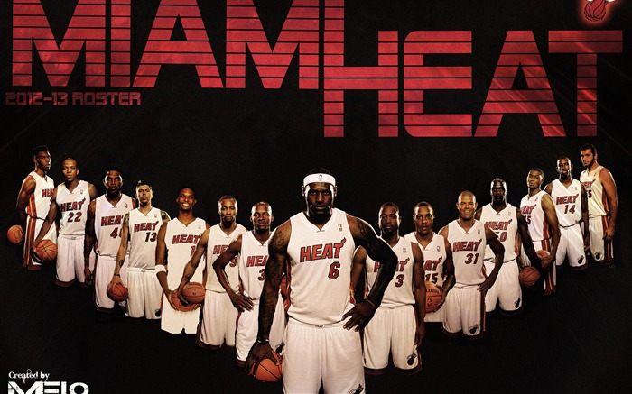 MIAMI HEAT NBA 2013 2014 Wallpaper Wallpapers View   10wallpapercom 700x437
