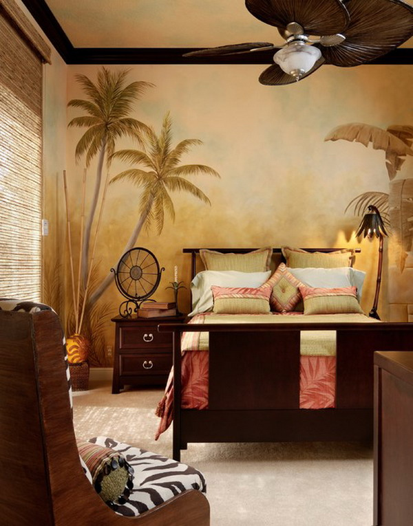 Download Tropical Master Bedroom Decorating Ideas Various Styles Of
