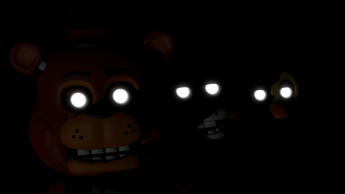 fnaf 2 wallpaper darker by datfurryoverthere 1191x670