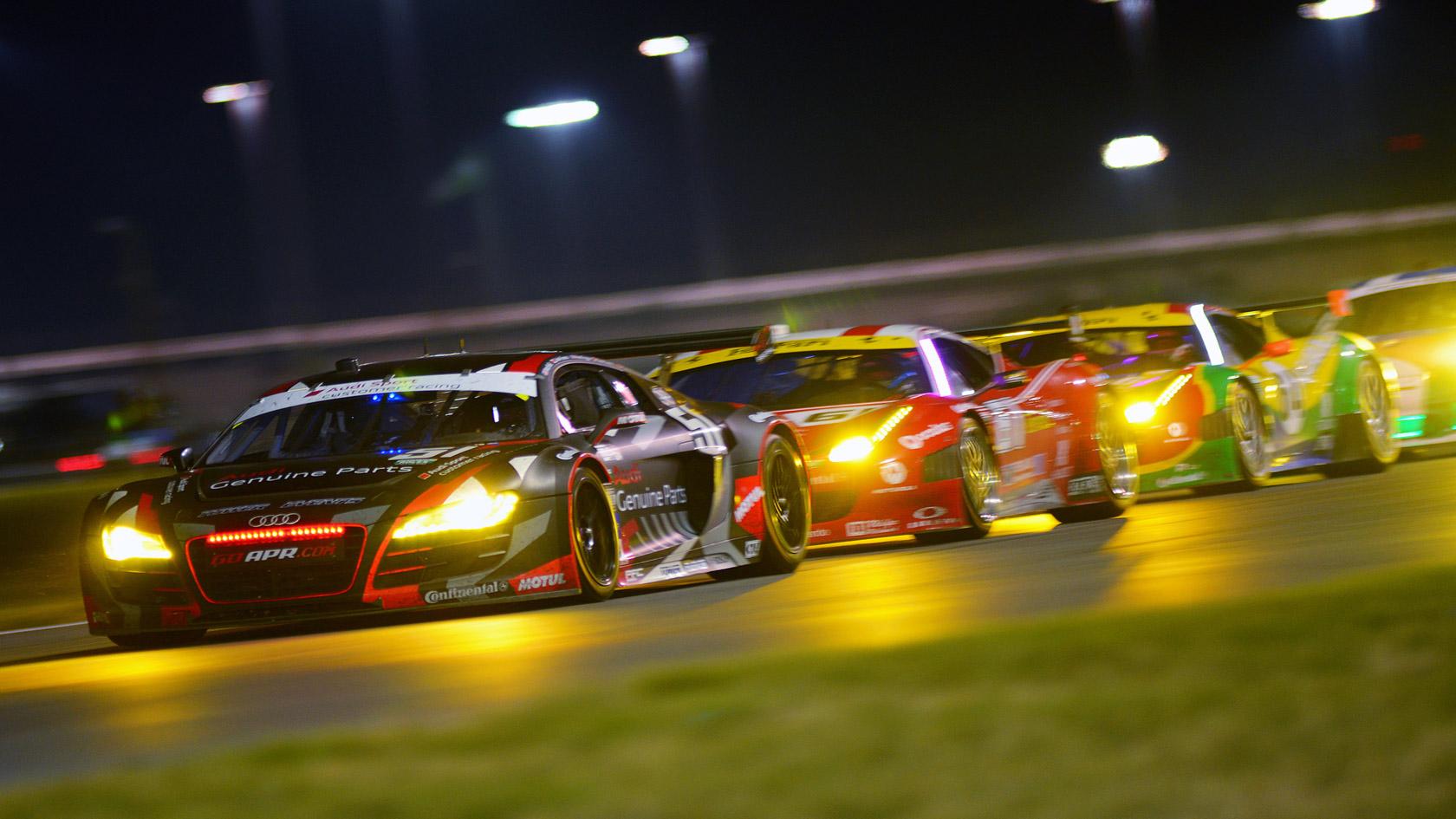 Wallpaper Wednesday Audi Racing Infinite Garage 1680x945