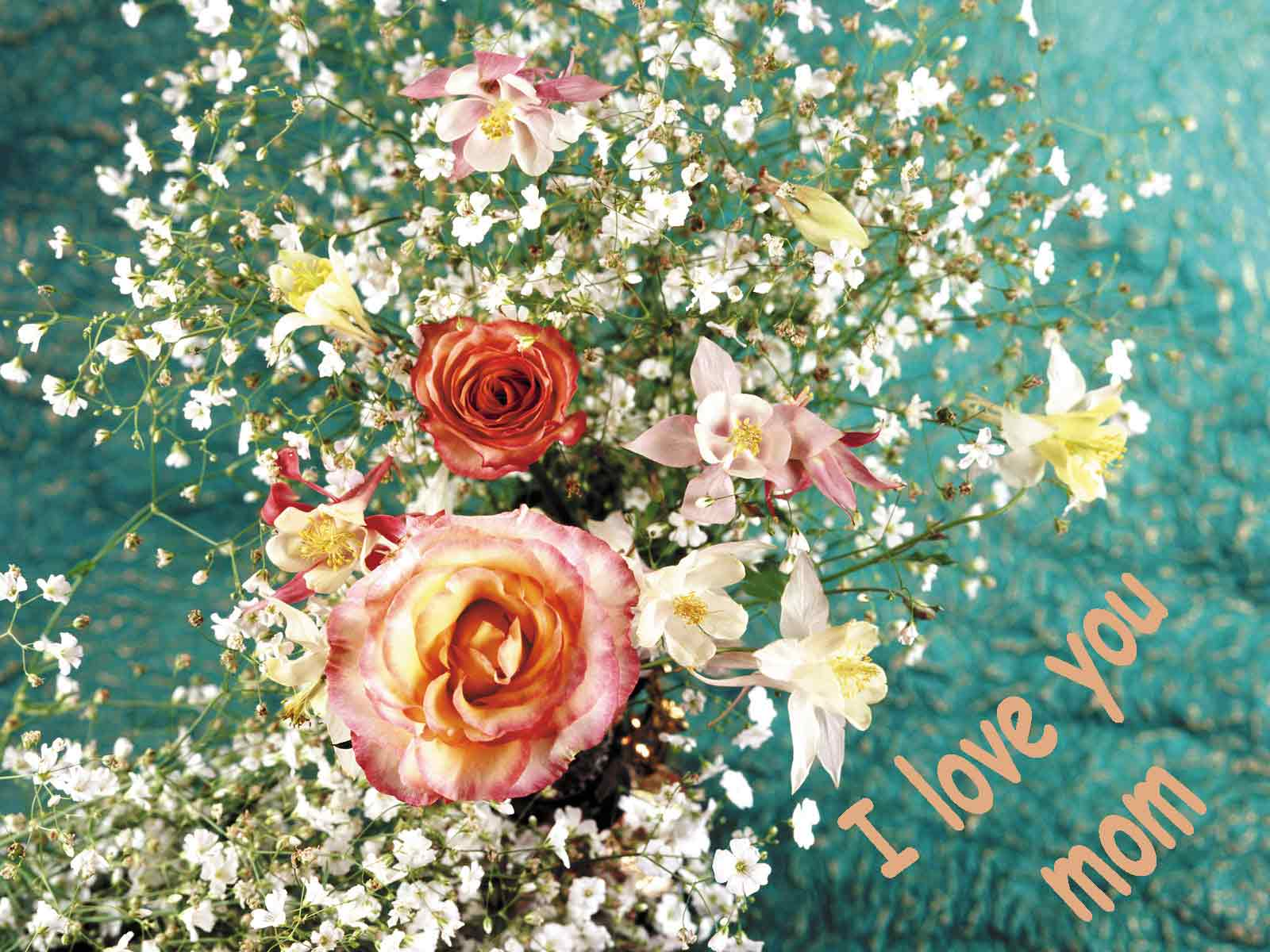Download I Love You Mom Backgrounds 1600x1200