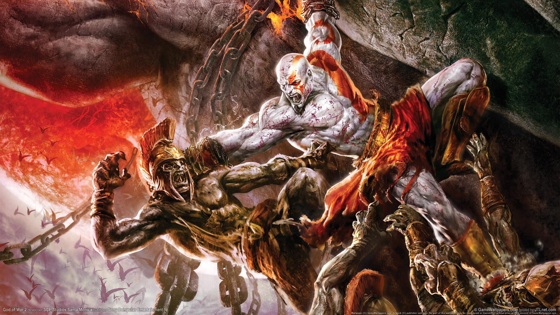 Iphone God Of War Hd Wallpaper