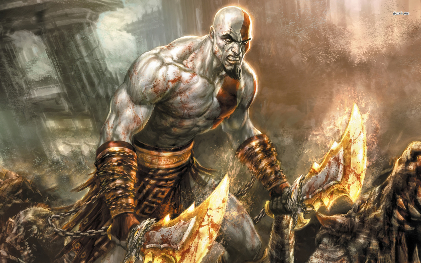 Free Download Kratos God Of War Wallpaper 1280x800 Kratos
