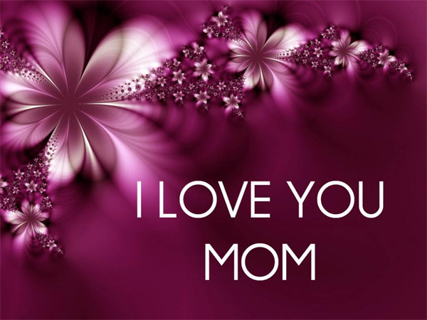 Mom Love Baby Wallpaper : I Love You Mom Wallpaper - WallpaperSafari