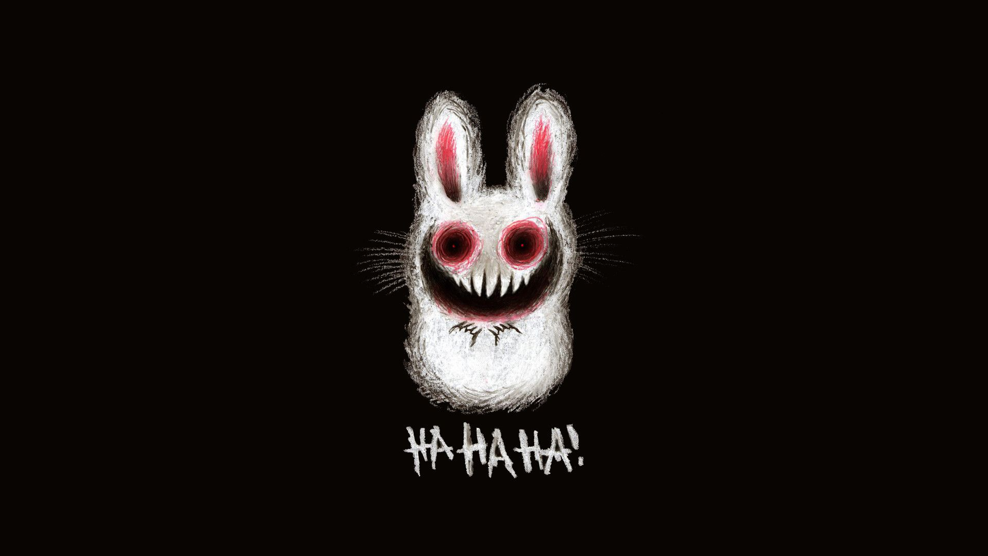 Free Download 1920x1080 Creepy Bunny Wallpaper Cute Adorable