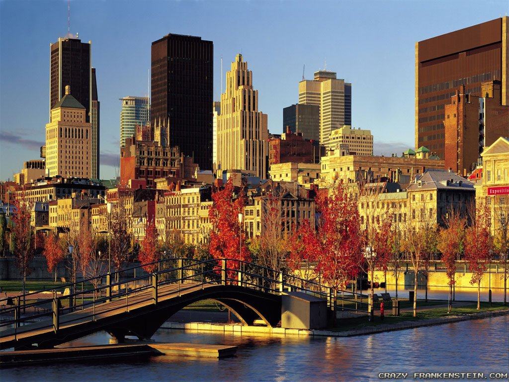 Travel Wallpapers Hd 1366x768: Montreal Pictures Wallpaper