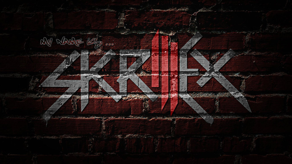 Skrillex Logo Wallpaper by ToHeavenOrHell 1024x576