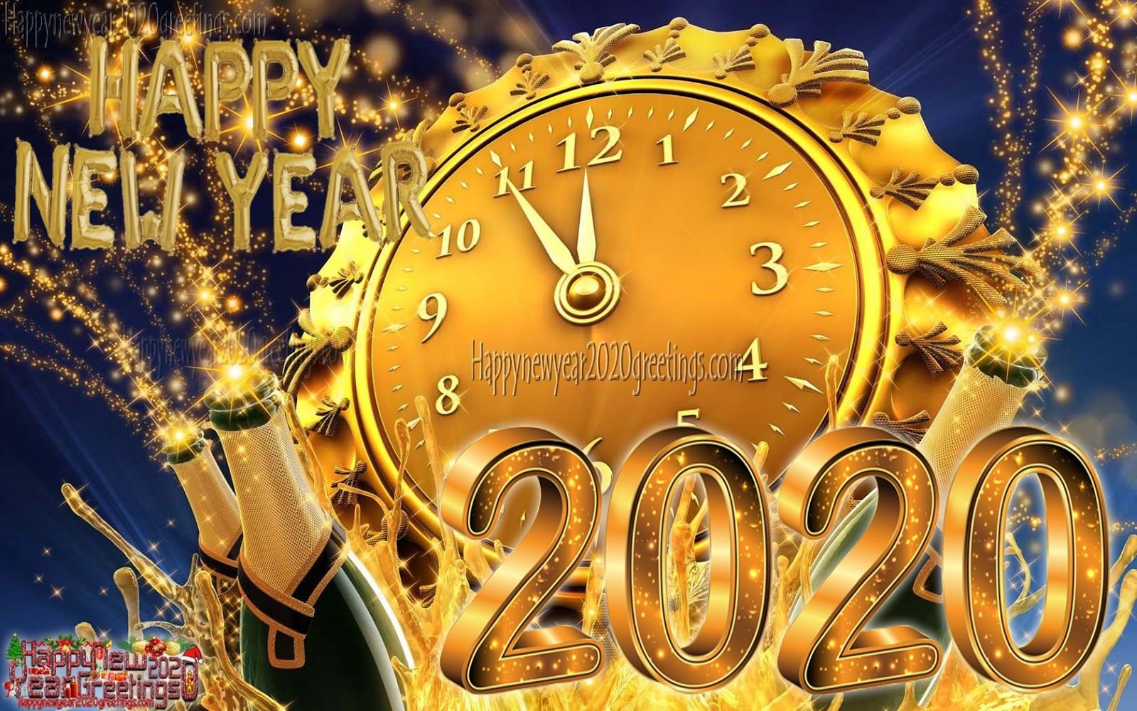Happy New Year 2020 Images HD 1080p   New Year 2020 Ultra HD 4K 1600x1000