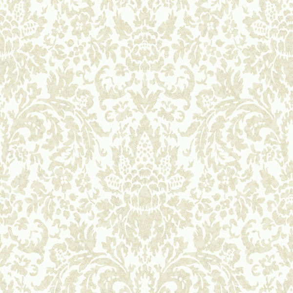 Grey and White Mottled Damask Wallpaper   Wall Sticker Outlet 600x600