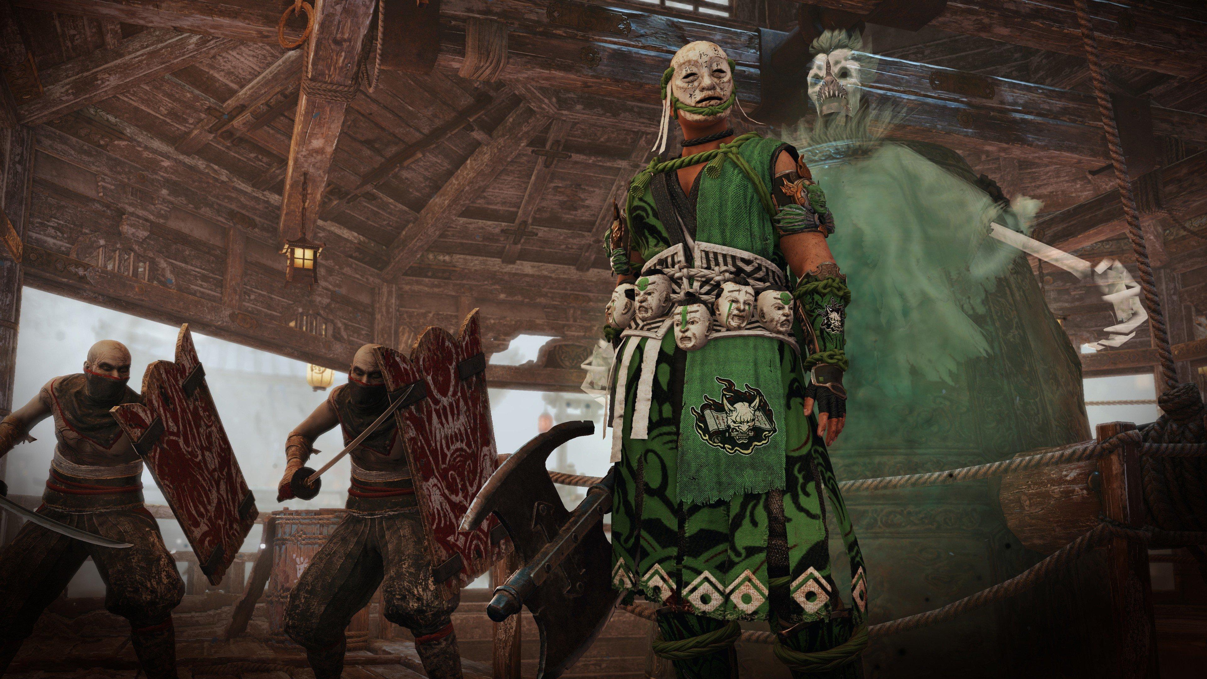 Wallpaper For Honor Shadows of the Hitokiri E3 2019 screenshot 3840x2160