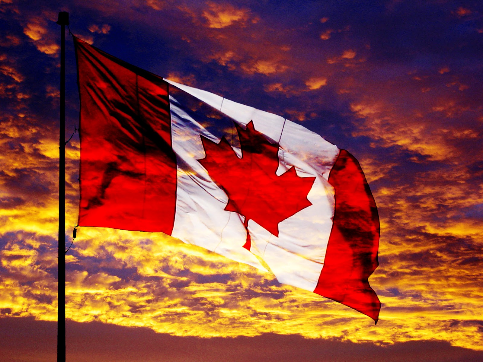 Awesome Canada Flag Designs HD Wallpapers Download Wallpapers in 1600x1200