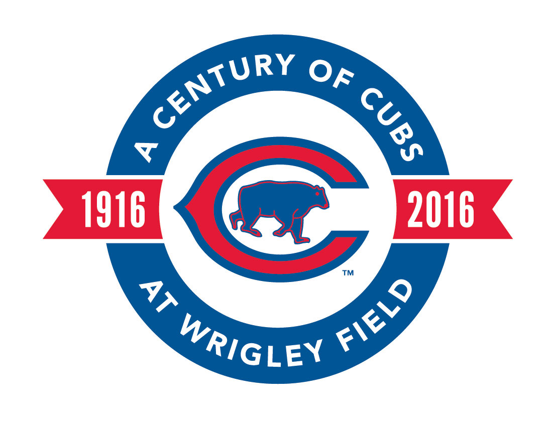 Cubs release commemorative logo celebrating a century at Wrigley Field 1107x849