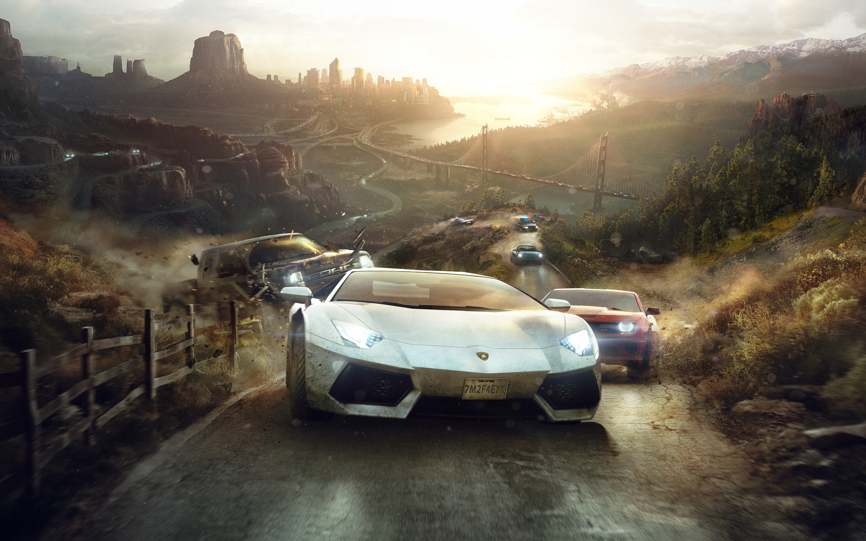 The Crew 2014 Game Wallpapers HD Wallpapers 2880x1800