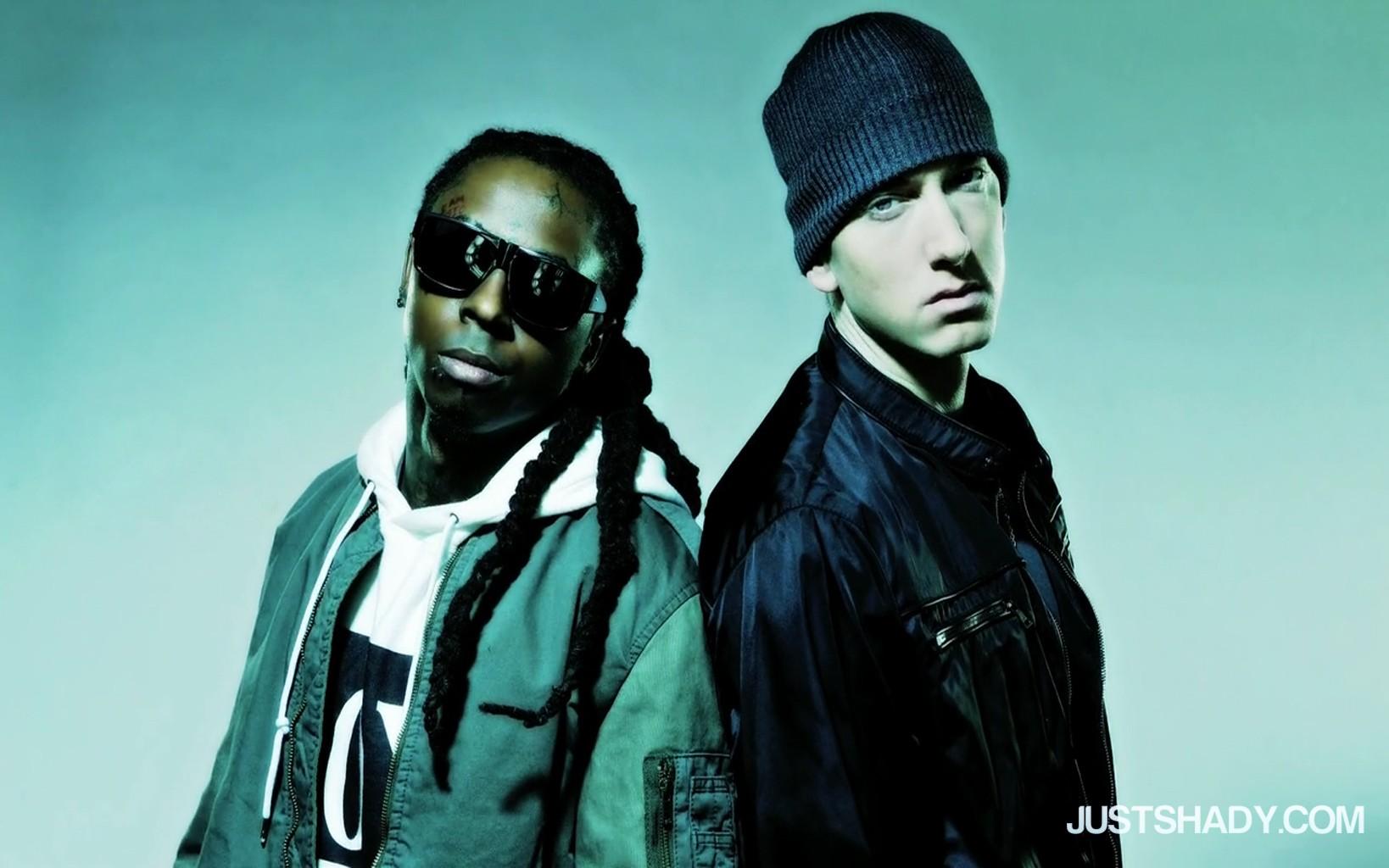 Lil Wayne and Eminem Rap Wallpapers 1638x1024