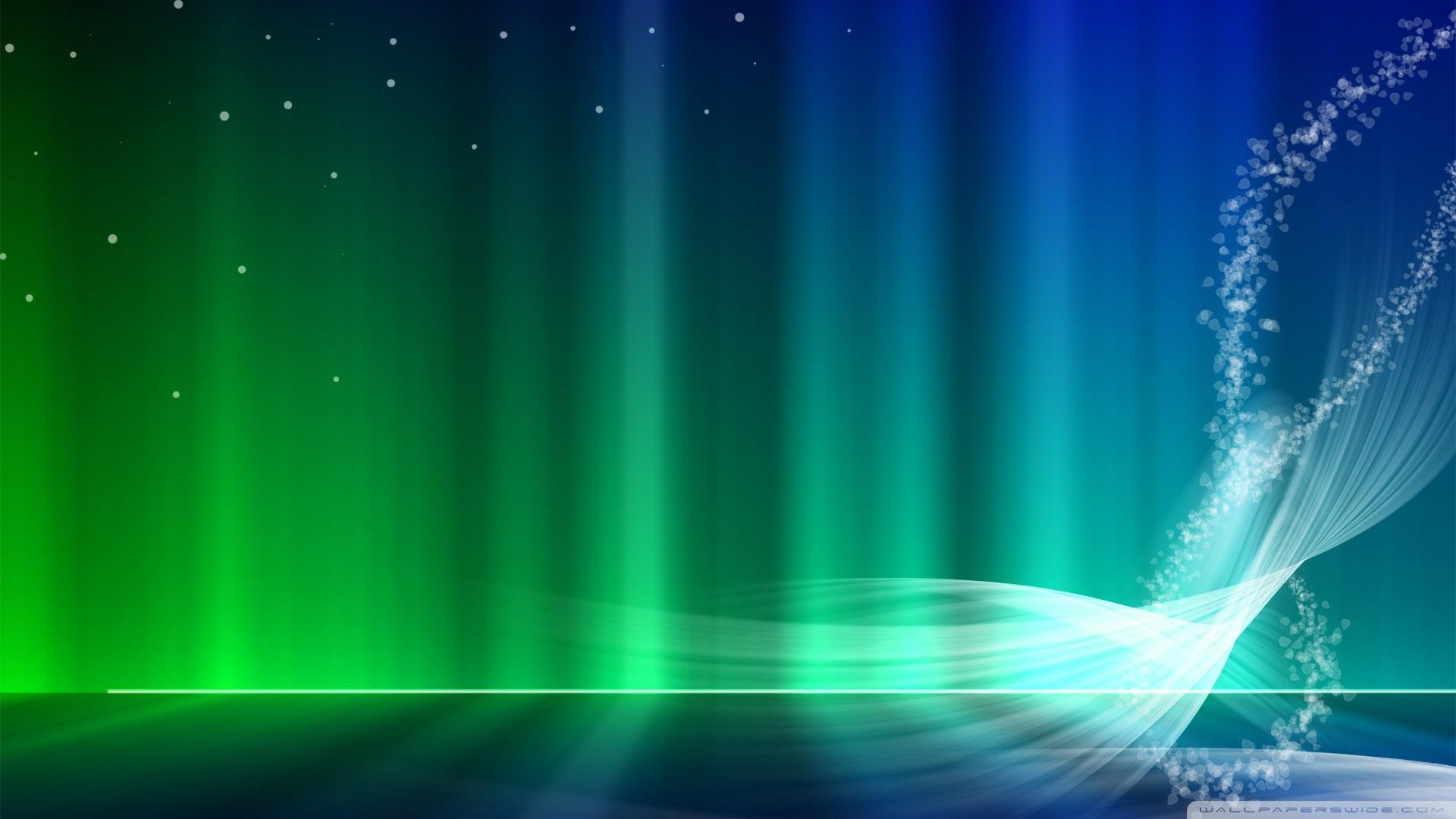 Vista Blue And Green Aurora 4K HD Desktop Wallpaper for 4K 1920x1080