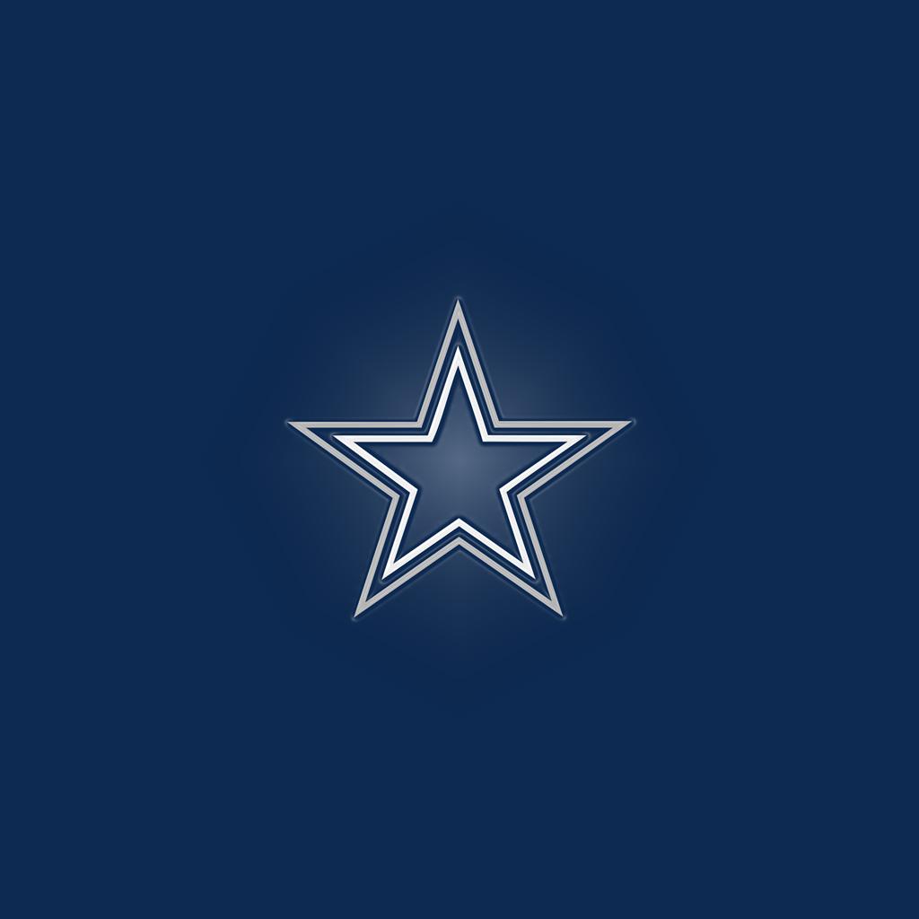 Dallas Cowboys Team Logo iPad Wallpapers Digital Citizen 1024x1024