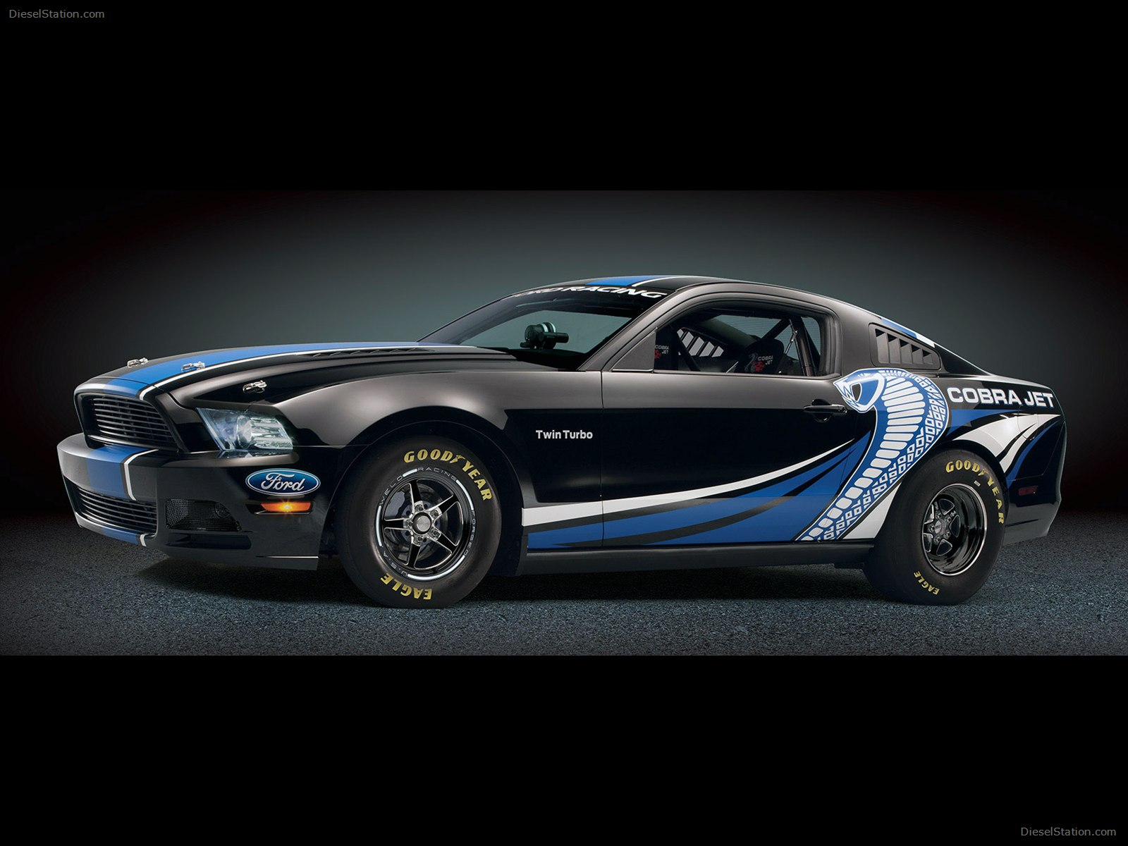 Ford Mustang Cobra Jet Twin Turbo Concept 2012 Exotic Car Image 10 of 1600x1200