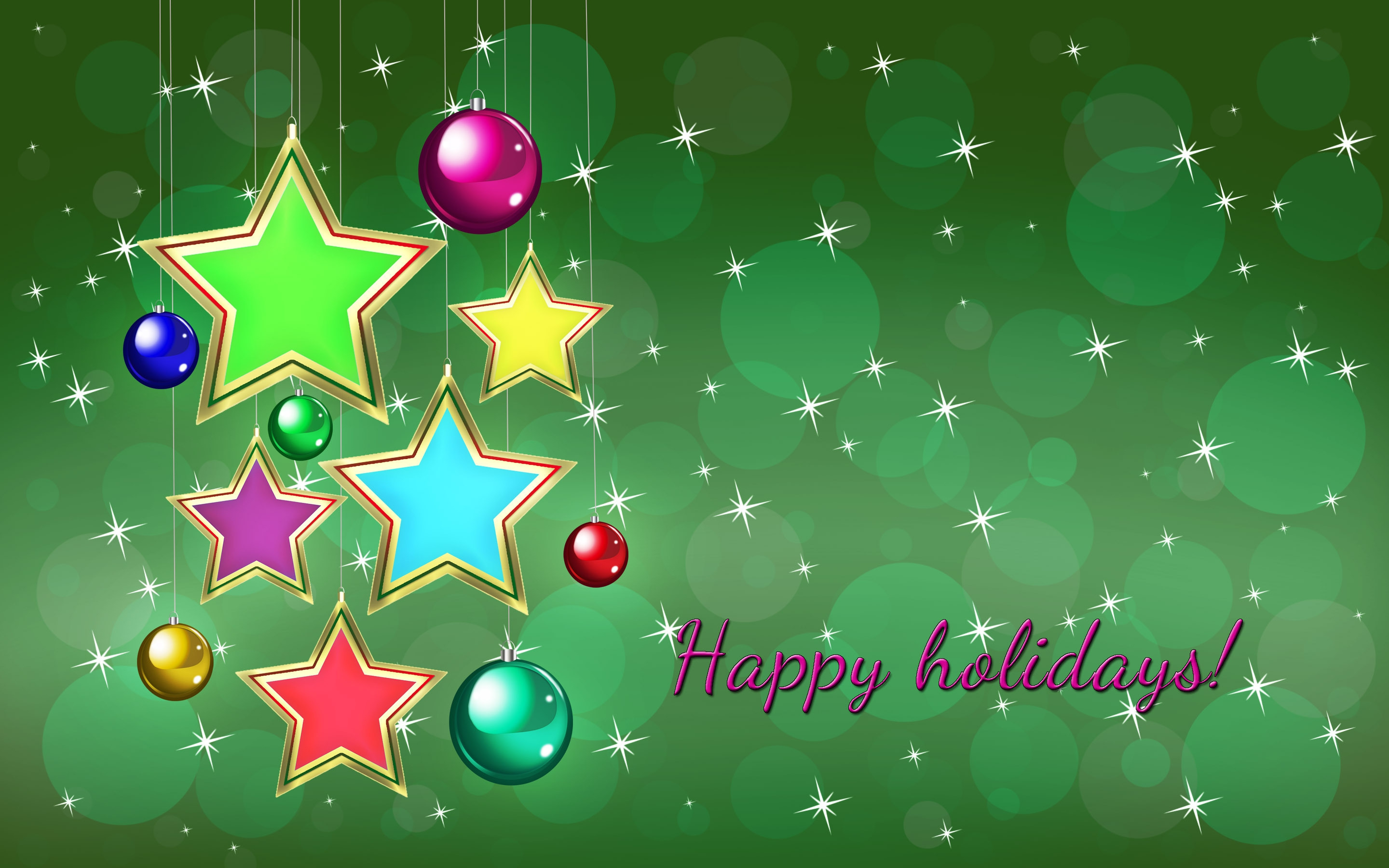 Download Holiday Hd Wallpapers   Happy Holidays Wallpaper 2880x1800