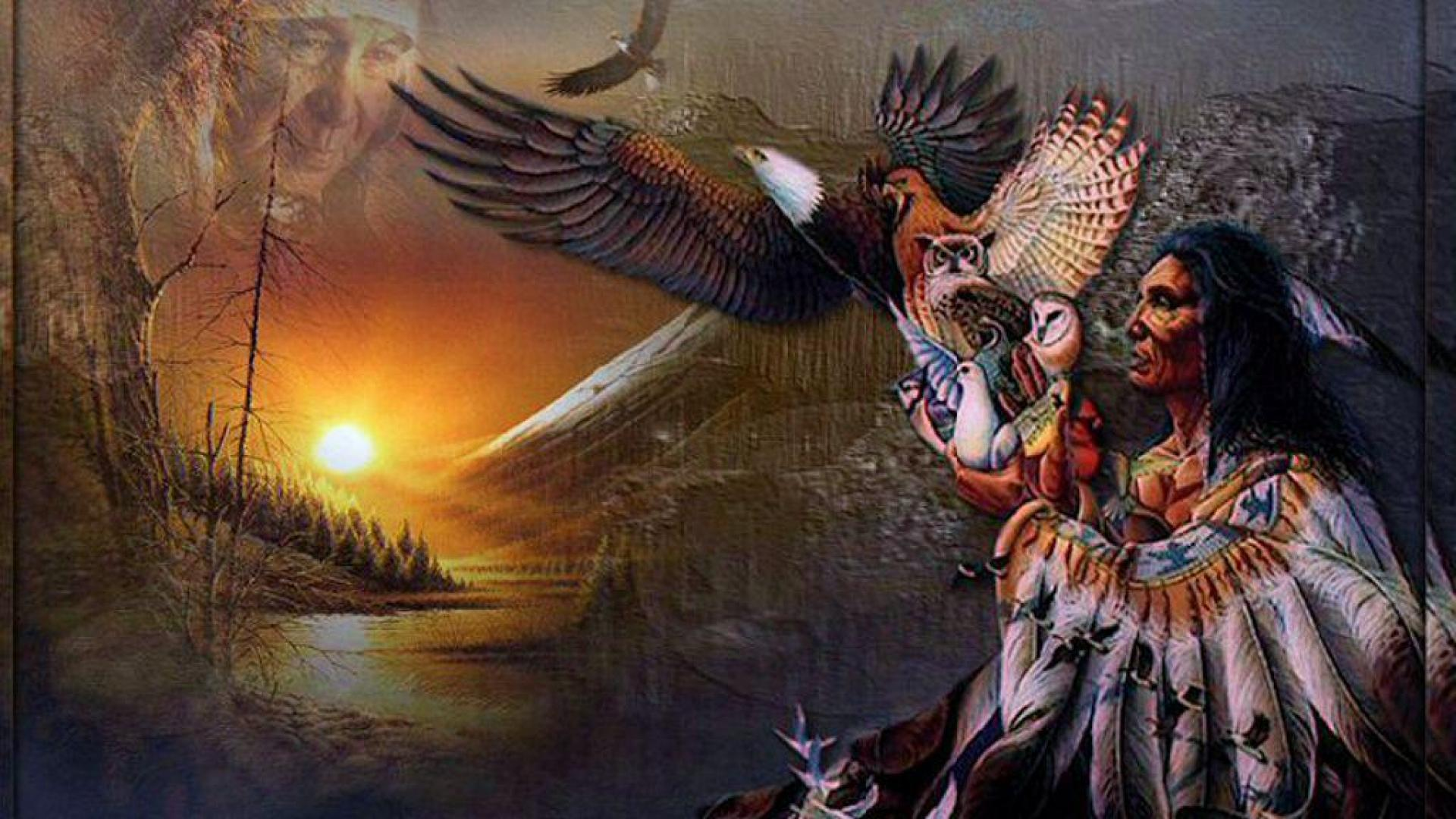 American Indian Chief Wallpaper   image 13 1920x1080