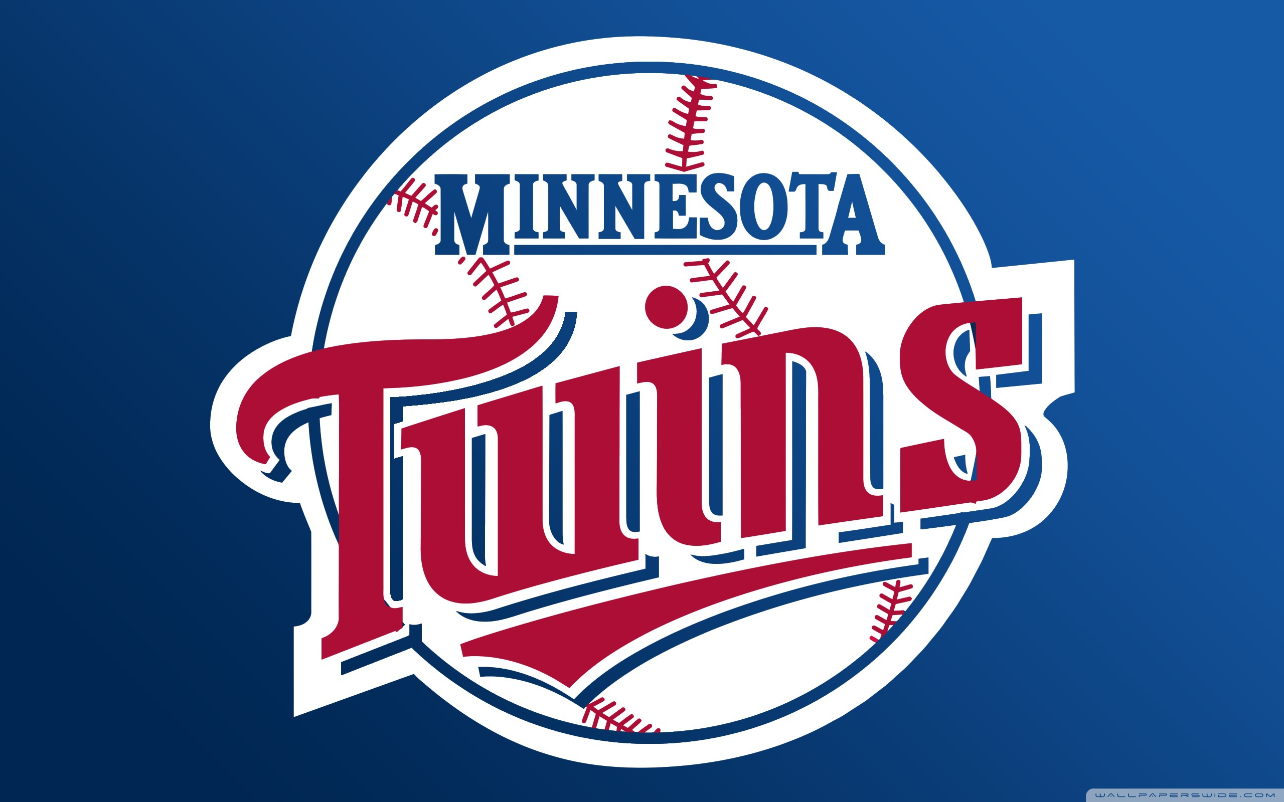 Minnesota Twins logo Club wallpapers and images 2560x1600