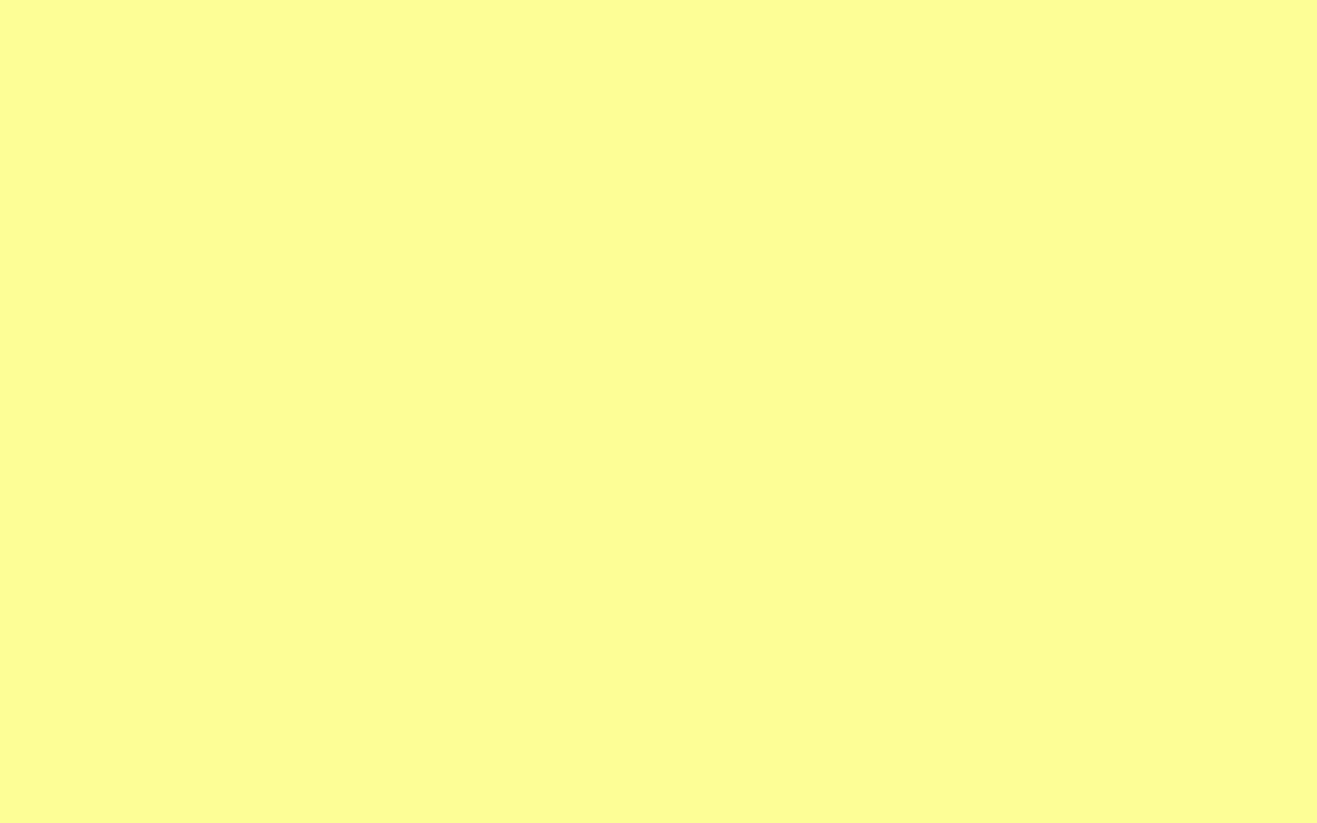 2560x1600 Pastel Yellow Solid Color Background 2560x1600