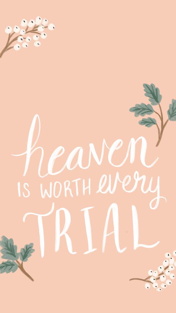 Christian quote iPhone background Cute iPhone background 562x1000