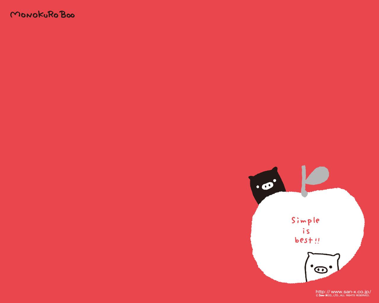 Pink Monokuro Boo Wallpaper Cartoon Wallpapers 1280x1024