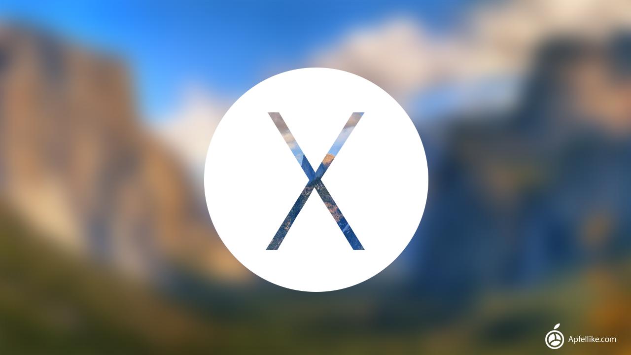 Nachgereicht Zwei OS X 1010 Konzepte apfellike 1280x720